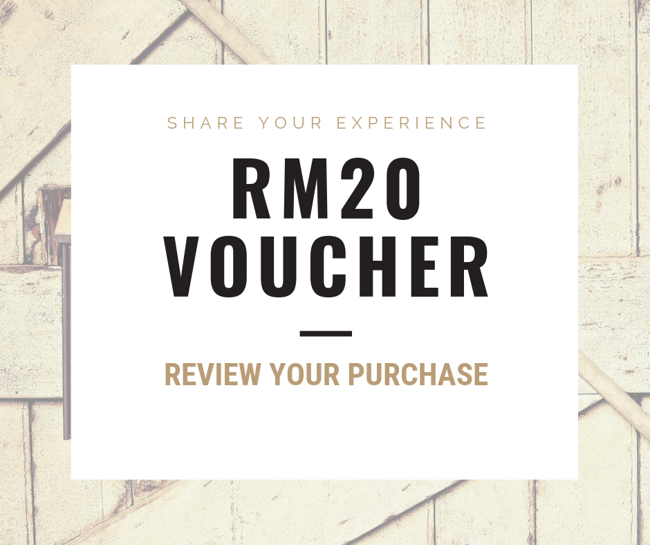 Review to get RM20 voucher