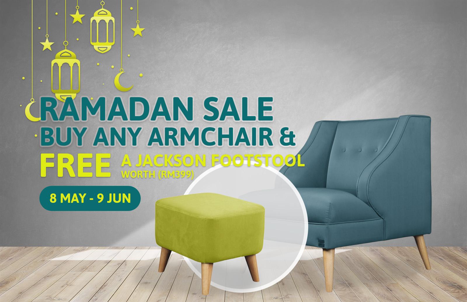 Ramadan sale free footstool