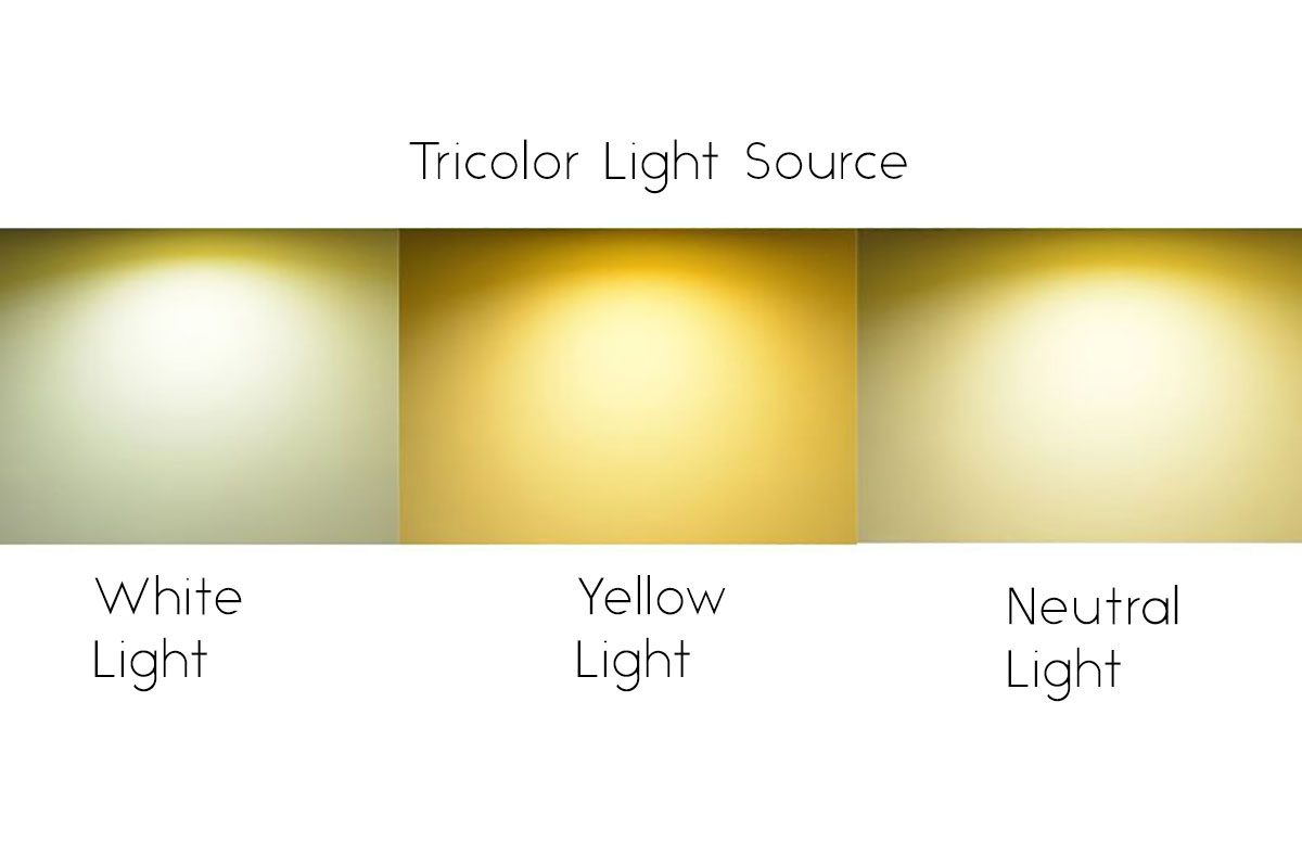 tri-color light source