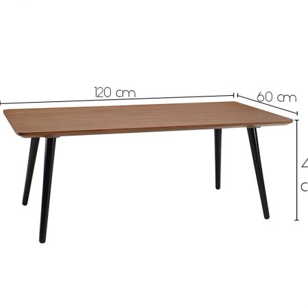 carsyn rectangular coffee table - measurement