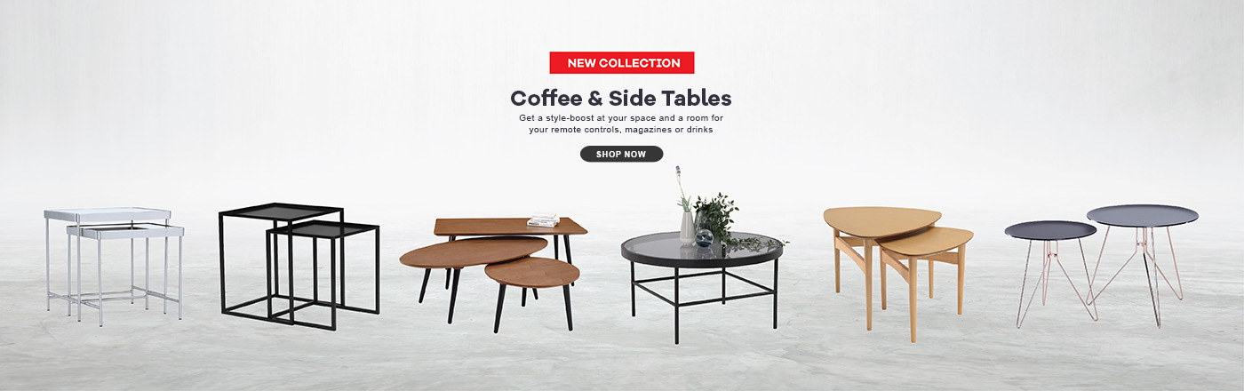 Side & coffee tables